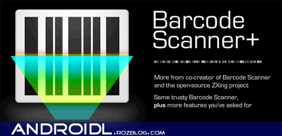 بارکدخوان Barcode Scanner+ (Plus) v1.9.3